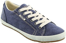 Load image into Gallery viewer, TAOS Star Sneaker Blue Wash Canvas