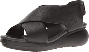 Camper Ballon K200066 Wedge Leather, Black
