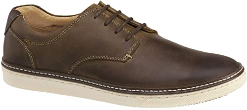 Johnston and Murphy Mcguffey Brown Oiled Lace Up