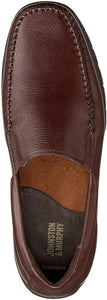 Johnston and Murphy Crawford Venetian Mahogany Tumbled FG Leather