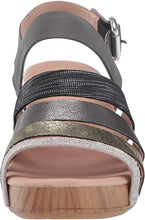 Load image into Gallery viewer, Dansko Maribeth Platform Sandal Metallic Multi
