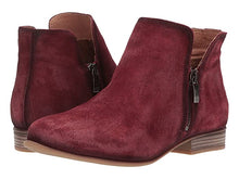 Load image into Gallery viewer, Eric Michael Isabella Ankle Bootie Bordeaux