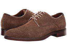 Load image into Gallery viewer, Johnston and Murphy Warner Perf Cap Toe Camel Water Resistant Suede