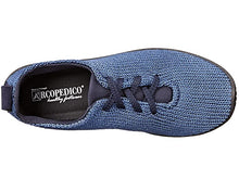 Load image into Gallery viewer, Arcopedico LS Lace Up Walking Shoe Denim