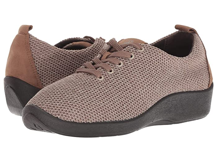 Arcopedico Net 3 Lace Up Walking Shoe, Taupe