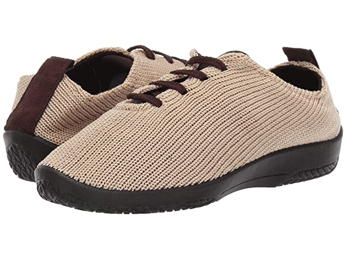 Arcopedico LS Lace Up Walking Shoe Beige