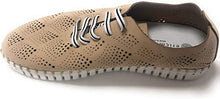 Load image into Gallery viewer, Eric Michael Annie Lace Up Sneaker Beige Nubuck