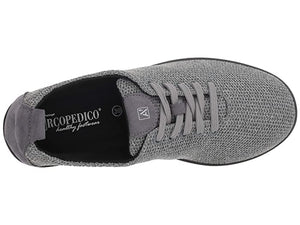 Arcopedico Net 3 Lace Up Walking Shoe, Gris (Grey)