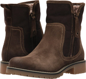 Eric Michael Denver Waterproof Ankle Bootie Brown