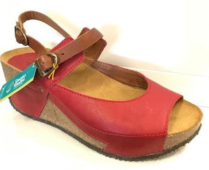Sergio Tomani  Jazmin Wedge/ Mary Jane  Red & Tobacco