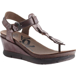 OTBT Graceville Wedge Sandal Pewter