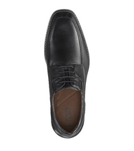 Load image into Gallery viewer, Johnston and Murphy Bartlett Cap Toe Black Full Grain Leather