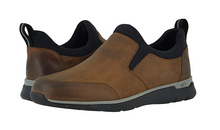 Load image into Gallery viewer, Johnston and Murphy Prentiss Slip-On Tan Oiled Waterproof Leather
