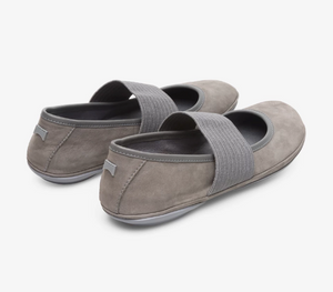 Camper Right Nina 21595-130 Mary Jane Leather, Grey