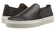 Load image into Gallery viewer, The Flexx Sneak Name Slip-on Sneaker Black Noir