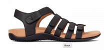 Load image into Gallery viewer, Vionic Rest Harissa Sandal Black