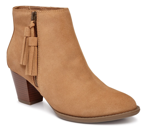 Vionic Upright Madeline Ankle Bootie Wheat