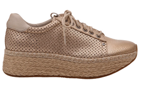 OTBT Meridian Wedge Sneaker New Gold