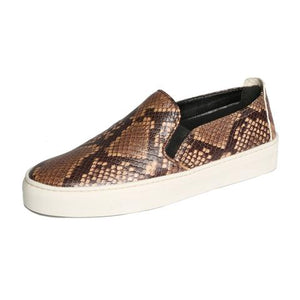 The Flexx Sneak Name Slip-on Sneaker Dark Brown Mer