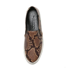 Load image into Gallery viewer, The Flexx Sneak Name Slip-on Sneaker Dark Brown Mer