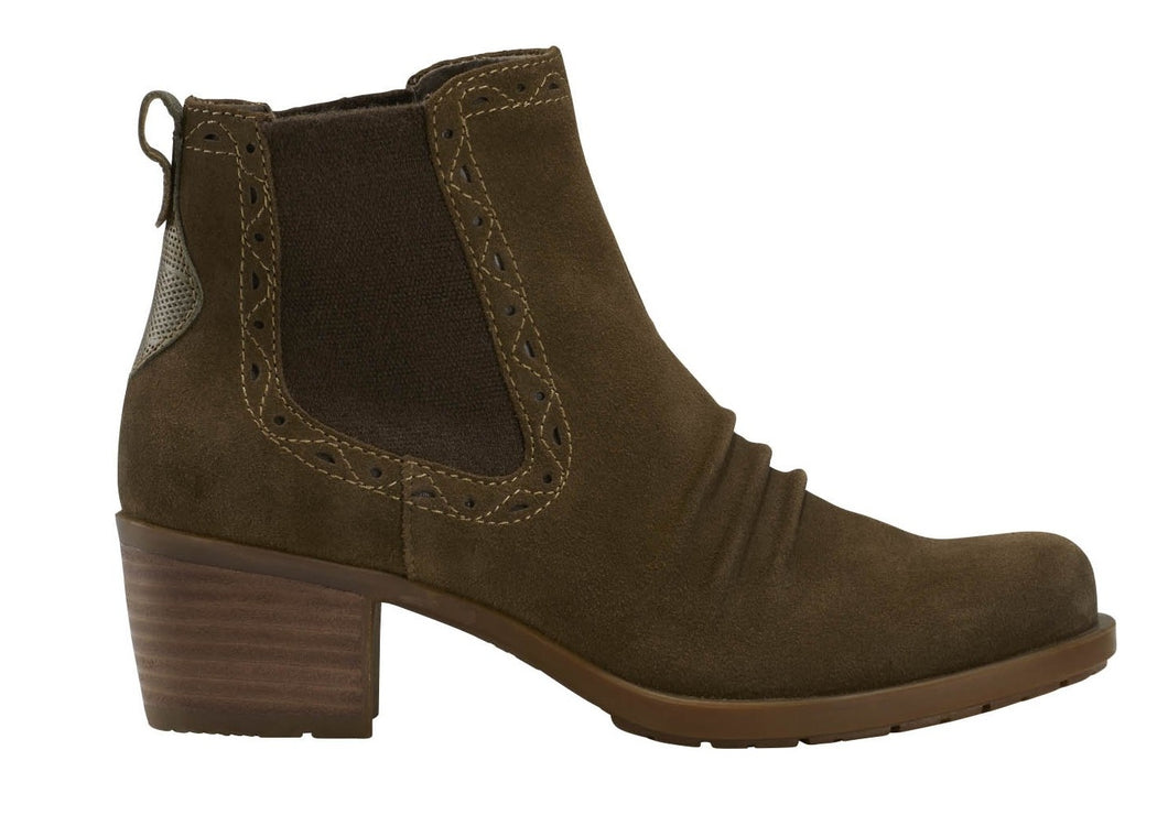 EARTH Denali Aspect Bootie Dark Khaki Multi