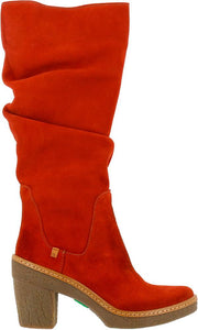 El Naturalista Haya 5178 Fashion Tall Boot Caldera (Burnt Red/Burnt Orange)
