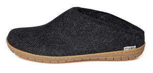 Glerups Slip On Slipper Charcoal