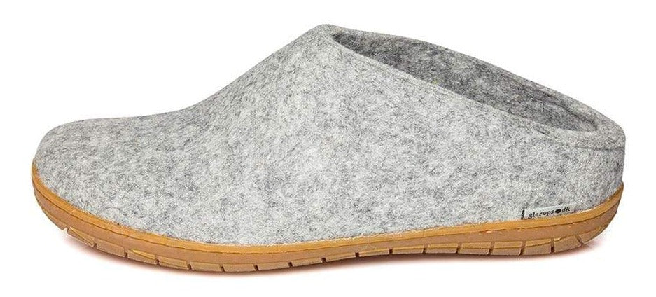Glerups Slip On Slipper Grey