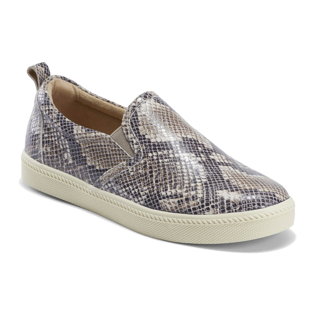 EARTH Zen Groove Slip On Taupe Multi Snake