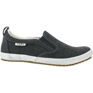 TAOS Dandy Sneaker Charcoal Wash Canvas