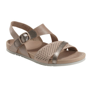 EARTH Linden Laguna Sandal Blush Leather