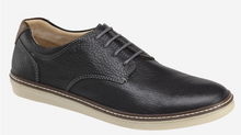 Load image into Gallery viewer, Johnston and Murphy McGuffey Plain Toe Black Full Grain Leather