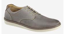 Load image into Gallery viewer, Johnston and Murphy McGuffey Plain Toe Gray Oiled Leather