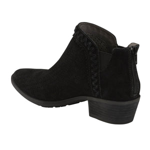EARTH Peak Perry Ankle Bootie Black Suede