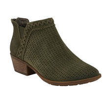 Load image into Gallery viewer, EARTH Peak Perry Ankle Bootie Classic Olive