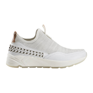 EARTH Journey Ramble Slip On Sneaker White Leather