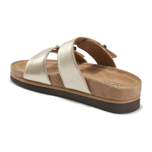 EARTH Canyon Ruby Sandal Gold Leather