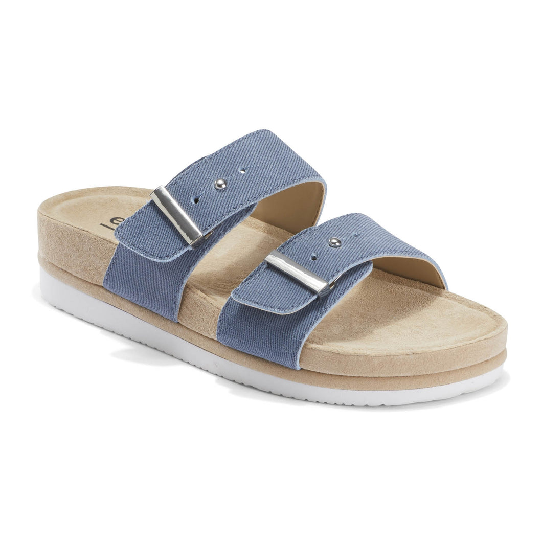 EARTH Canyon Ruby Sandal Blue Denim