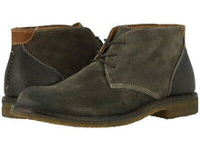 Load image into Gallery viewer, Johnston and Murphy Copeland Chukka Gray Water Resistant Oiled Suede
