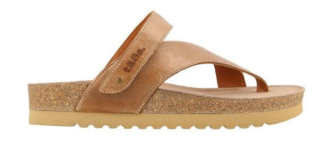 Taos Lola Sandal Tan Leather