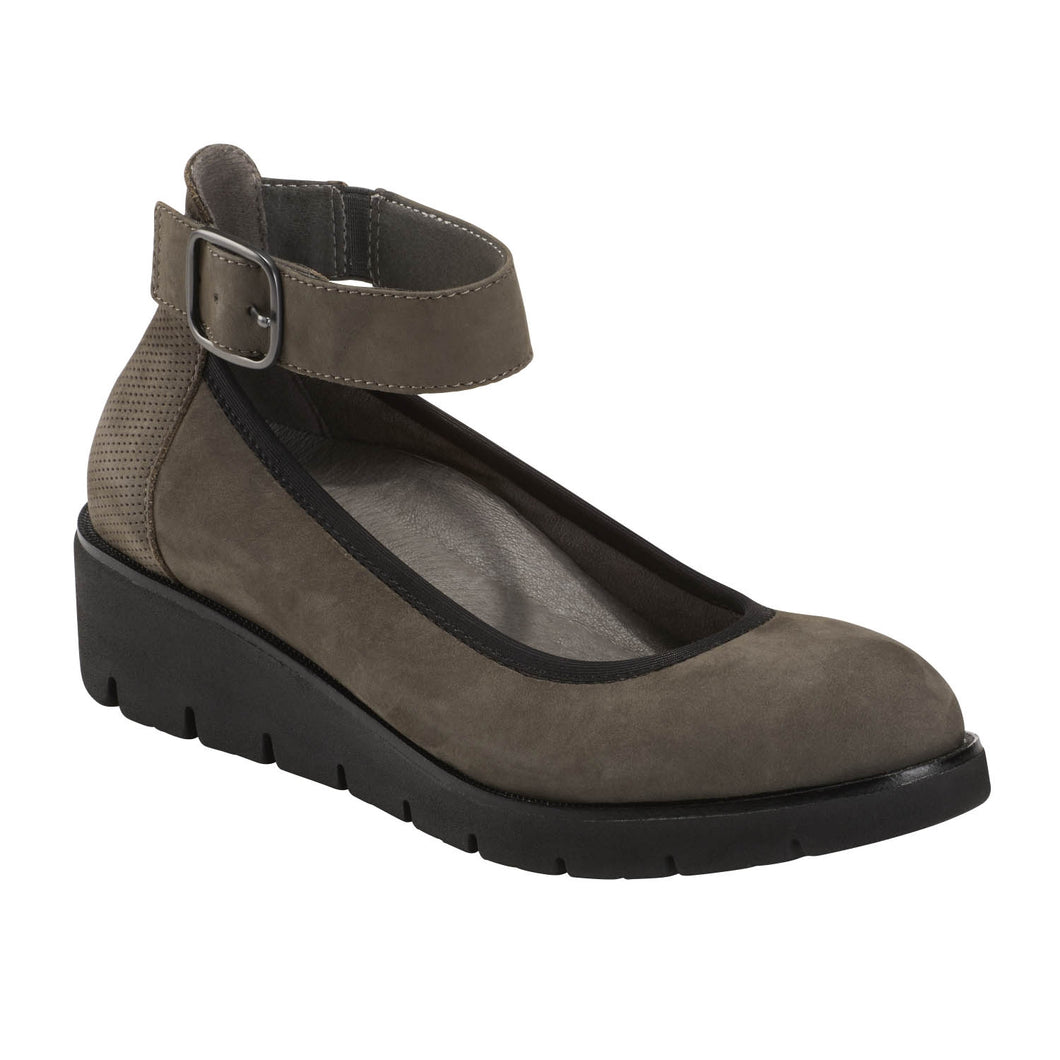 EARTH Zurich Sion Mary Jane Wedge Thunder Grey
