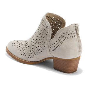 EARTH Wyoming Wonder Summer Bootie Cream Leather