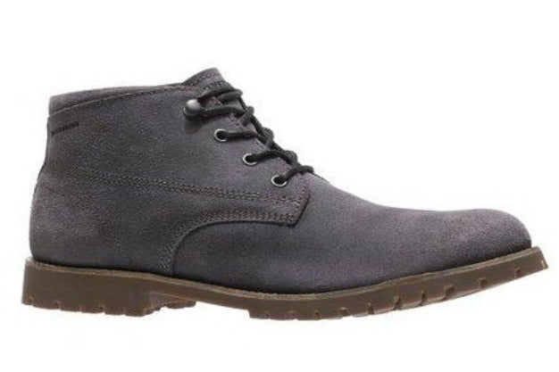 Wolverine Cort Waterproof Leather Gray