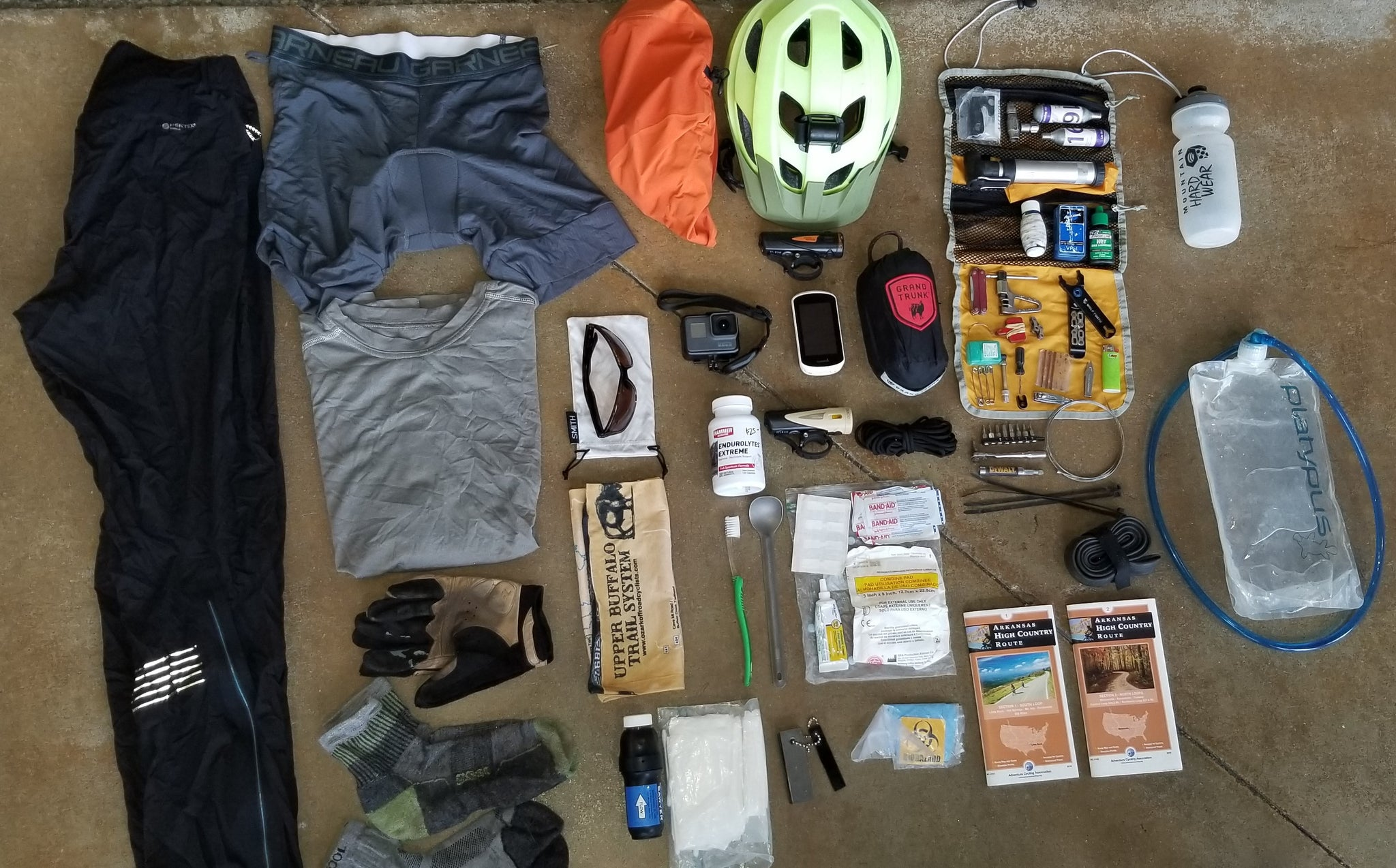 Bikepacking Gear List - Arkansas High Country Route