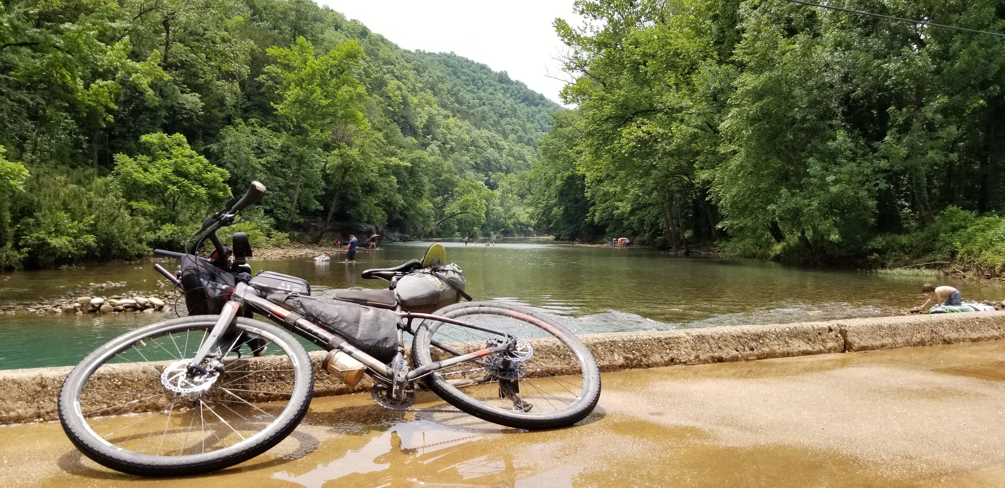 Ponca Low Water Bridge - Arkansas High Country Route