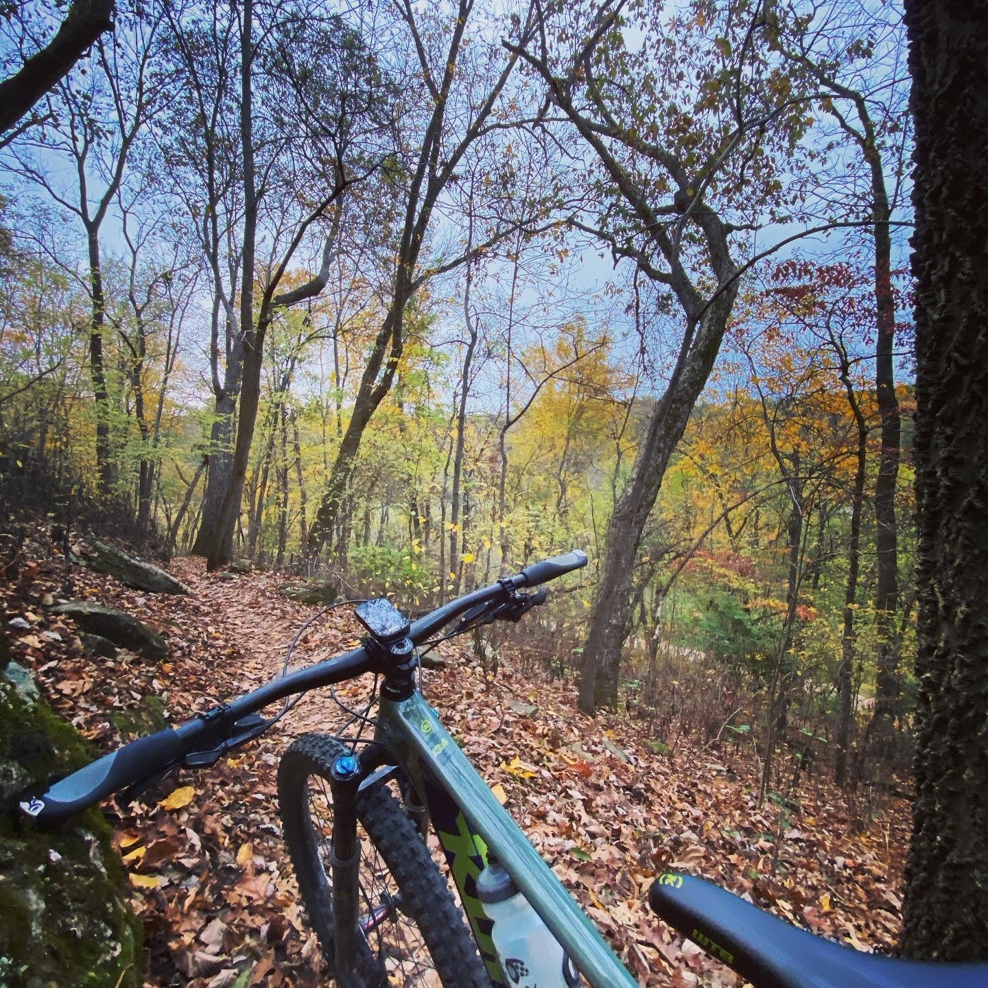 Razorback Ridge Trail at Slaughter Pen Mountain Bike Park