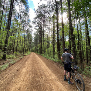 Gravel bikepacking - ouachita national forest