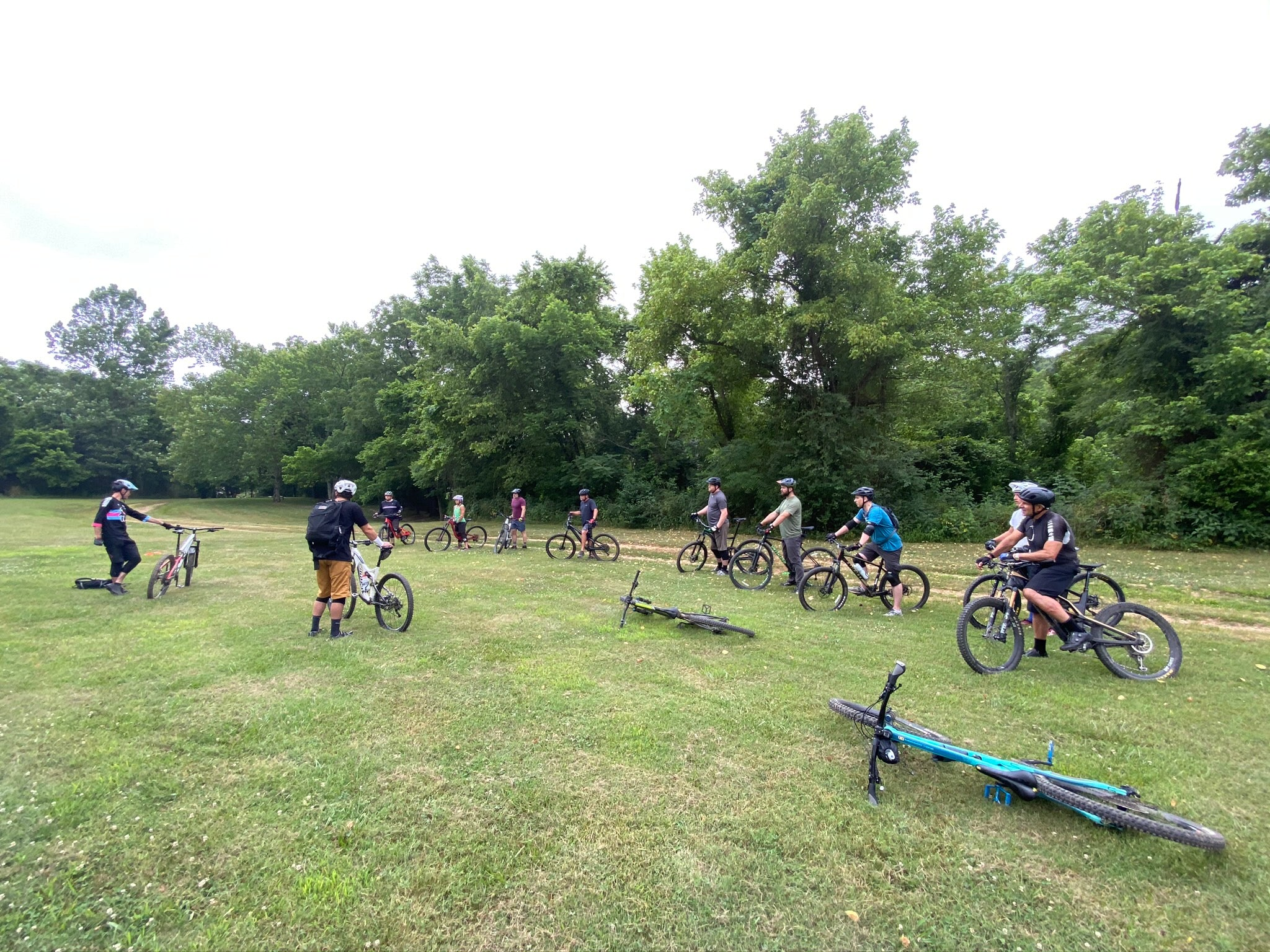 Bentonville Mountain Bike Skills Lesson