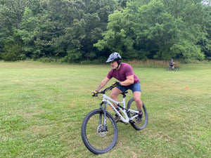 Slaughter Pen Mountain Bike Skills Lesson