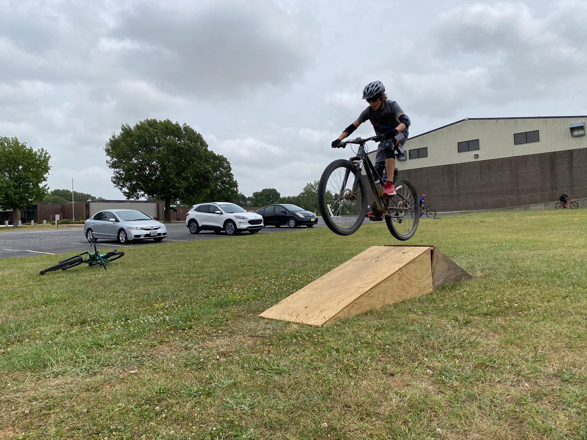 Learn the fundamentals of jumping a mountain bike in Bentonville Arkansas